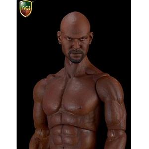 Monkey Depot - Figure: ACI 1/6 Body Series Black Muscular