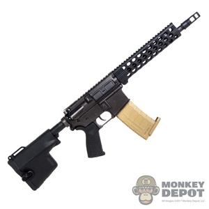 Monkey Depot - Rifle: Playhouse Mk18 w/CQD Grip, 100 MPH Tape, Label, Sling