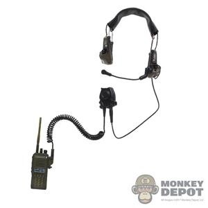Monkey Depot - Radio: DamToys VX Radio w/OD Green Pouch