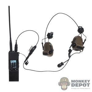 Monkey Depot - Radio: DamToys MBITR Radio w/Sordin Headset