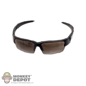 Monkey Depot - Glasses: DamToys Black Frame Sunglasses w
