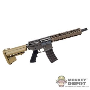 Monkey Depot - Rifle: Aoshima Steyr Aug w/Rail, Scope - Tan