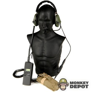 Monkey Depot - Radio: Playhouse MBITR w/Sordin Headset, Pouch