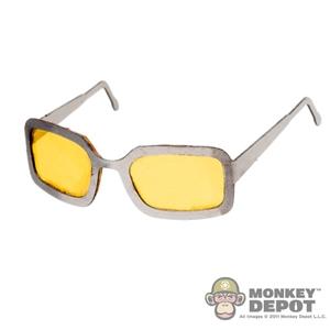 Monkey Depot - Glasses: ZC World Yellow Tint Sunglasses