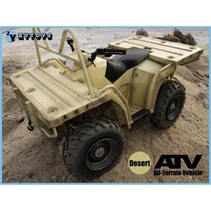 Monkey Depot - ZY Toys 1/6 ATV All Terrain Vehicle - BLACK