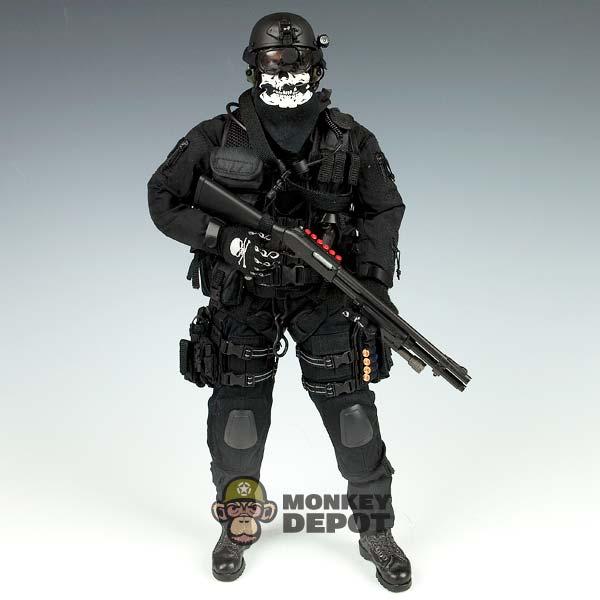 SOLDIER STORY CIA SAD NIGHT OPS Black Multipurpose pouc